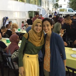 Iftar Party at Shenkar College - by Mel Rosenberg - מל רוזנברג