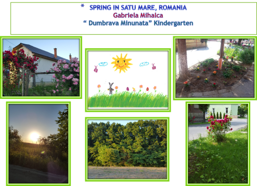 Artwork from the book - LET'S TAKE PHOTOS OF SPRING by ZEHRA AKKAYA - Illustrated by FROM OUR STUDENTS - Ourboox.com