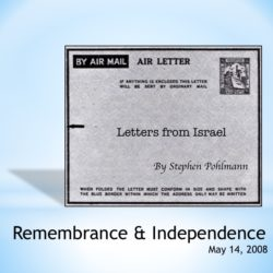# 95 – Remembrance & Independence - by Stephen Pohlmann