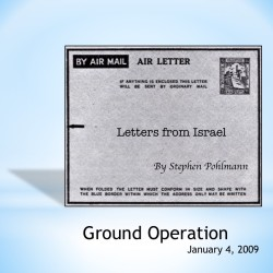 # 107 – Ground Operation - by Stephen Pohlmann