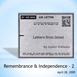 # 114 – Remembrance & Independence – 2 - by Stephen Pohlmann