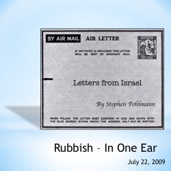 # 118 – Rubbish – In One Ear - by Stephen Pohlmann