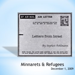 # 129 – Minarets & Refugees - by Stephen Pohlmann