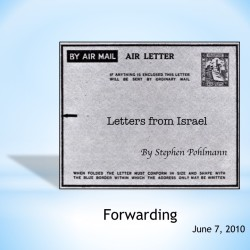 # 149 – Forwarding - by Stephen Pohlmann
