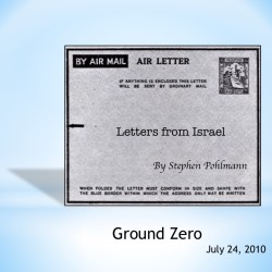 # 156 – Ground Zero - by Stephen Pohlmann