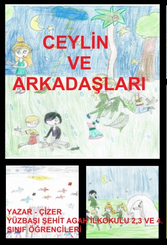Artwork from the book - Ceylin ve Arkadaşları by erdgn - Illustrated by ERDOĞAN YILDIRIM - Ourboox.com