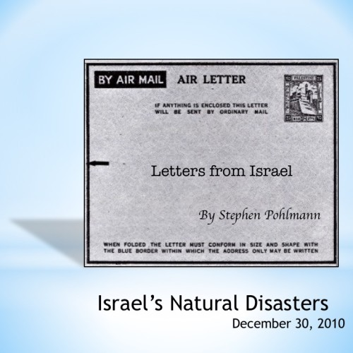 Artwork from the book - # 167 – Israel's Natural Disasters by Stephen Pohlmann - Ourboox.com