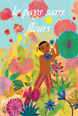 Artwork from the book - le pays sans fleurs by nour lina nermine - Illustrated by nour- nermine - Ourboox.com