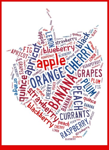 Word cloud with Tagxedo