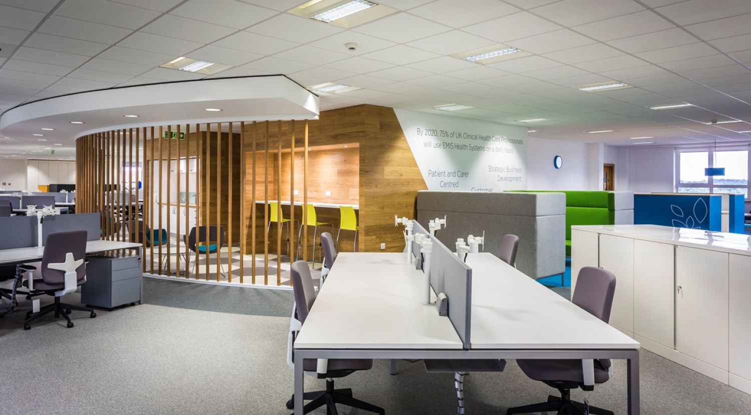 Emis health booth for Office design wellbeing