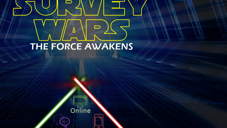 Survey Wars – The Force Awakens