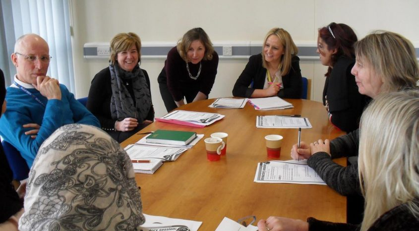 PARKSIDE School in Cullingworth hosted the first meeting of the Mental Health Champions Network.
