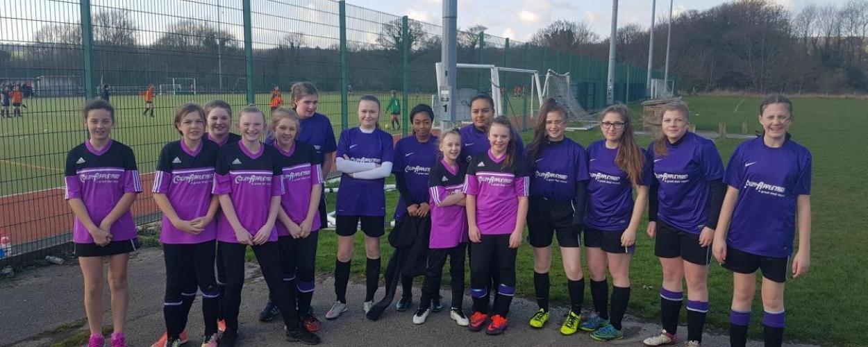 Parkside School girls top the league in soccer