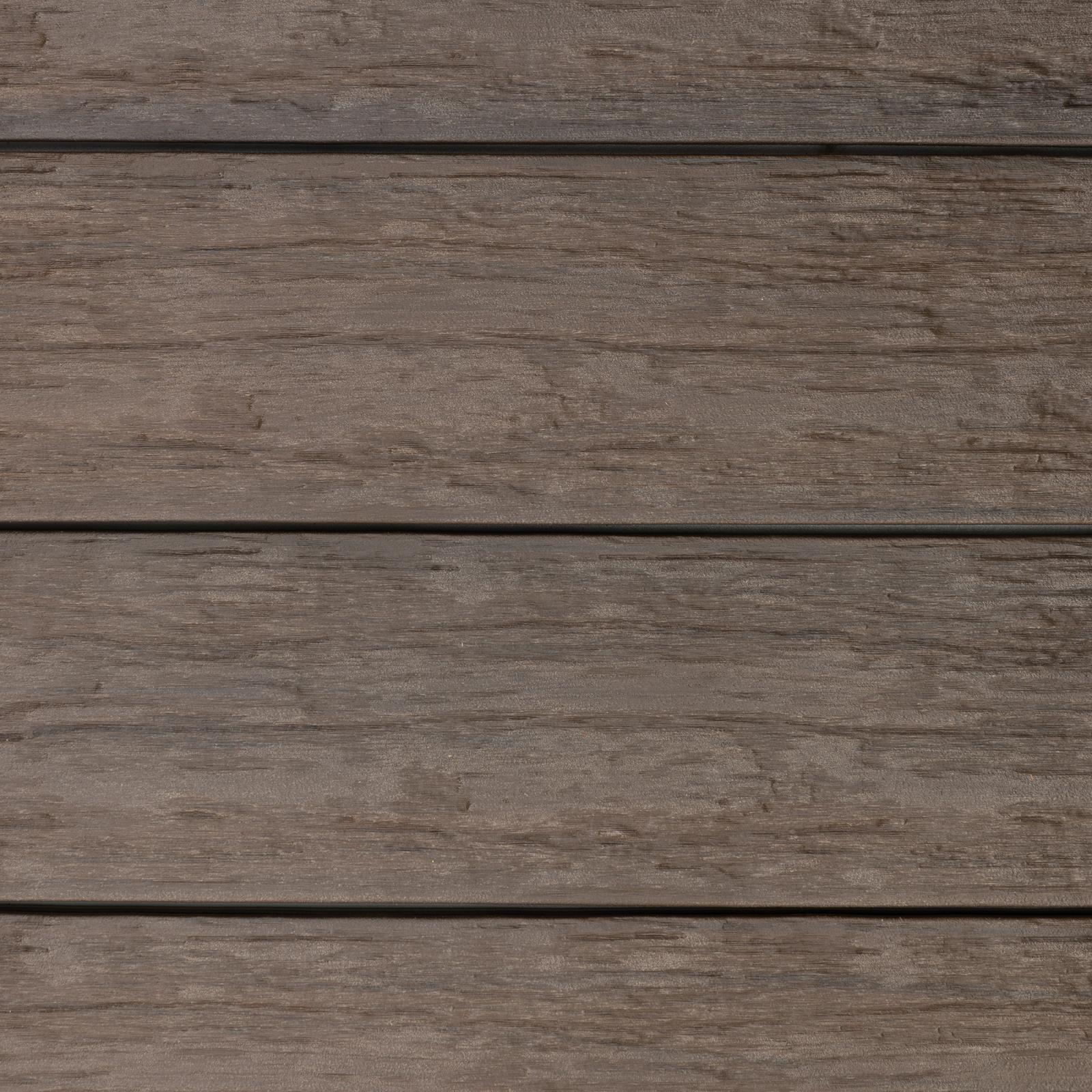 WPC BPC Terrassendielen Komplettbausatz mit UK Grau Beige Massiv Terrasse