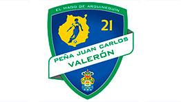 Escudo de la Peña Juan Carlos Valerón