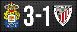 Resultado partido UD Las Palmas vs. Athletic de Bilbao