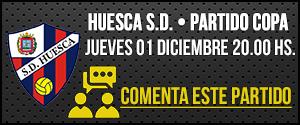 Próximo partido Copa Huesca
