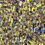 La afición amarilla llenará su sector en el Calderón