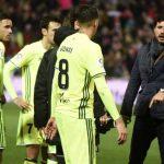 El castigo de Víctor a los jugadores tras la dura derrota en Granada