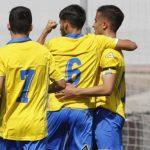 El filial bate récords y golea al Unión Viera en el Alfonso Silva