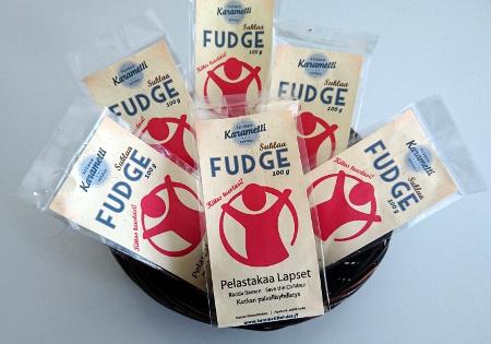Käsintehdyt fudge-makeiset
