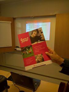 Eväitä elämälle- ohjelman koulutuspäivä 17.9.2016 aluetoimistot.