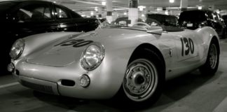 Porche 550 Spyder James Dean