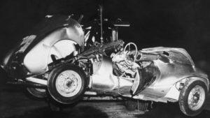 James Dean Küçük Piç kaza sonrası