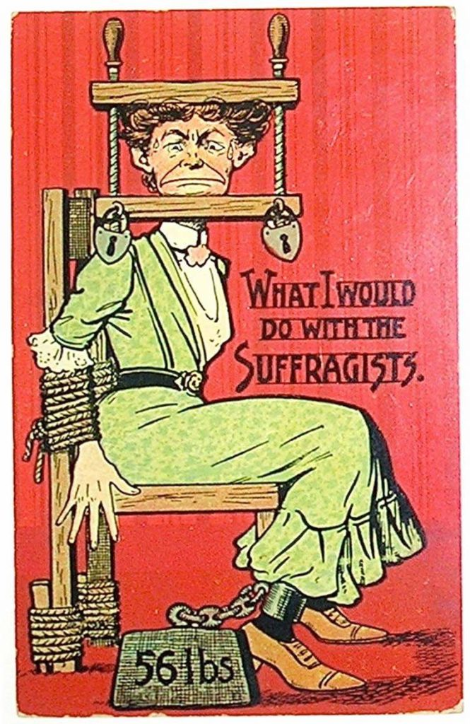 vintage woman suffragette poster 11