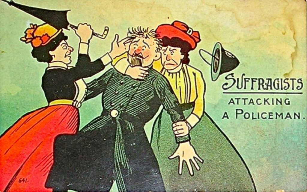vintage woman suffragette poster 12