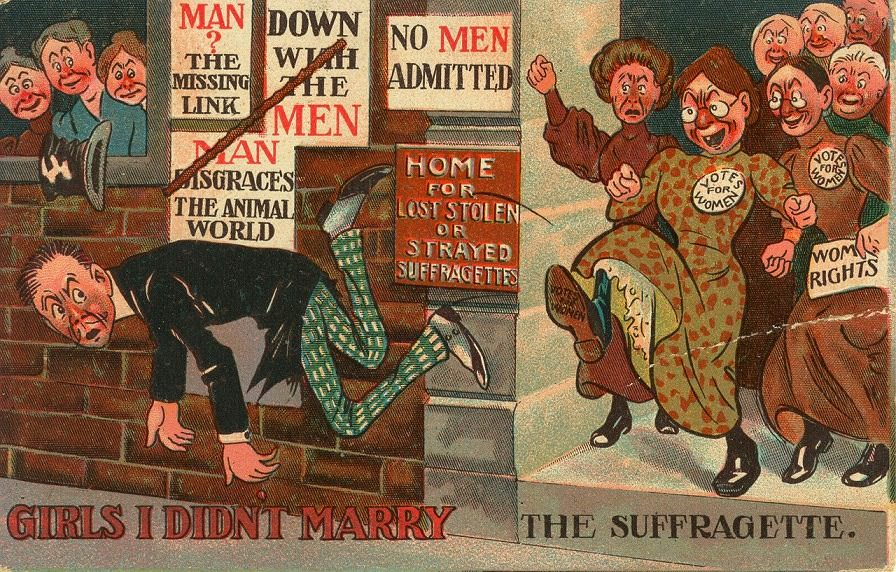 vintage woman suffragette poster 14