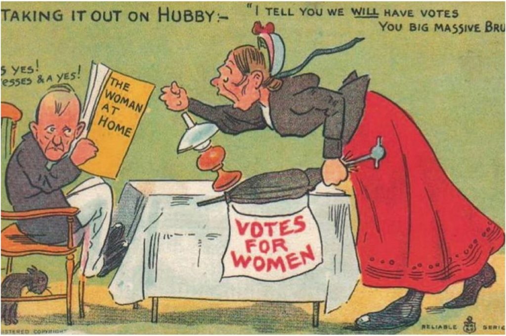 vintage woman suffragette poster 15