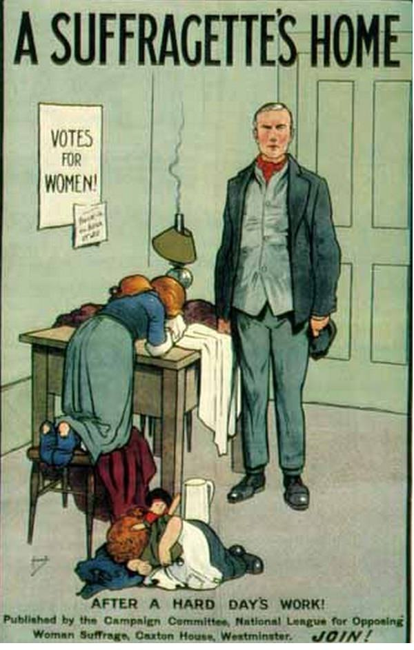 vintage woman suffragette poster 22