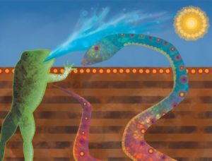 Aborjin yılan kurbağa