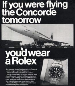 concorde rolex
