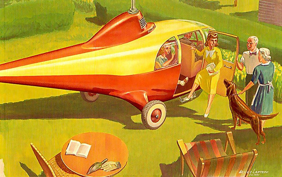 uçan arabalar