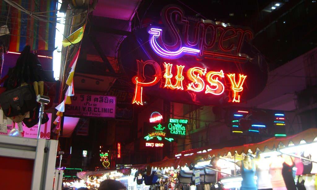 patpong bangkok gece hayatı