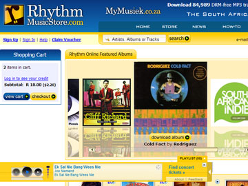 Rhythm Music Store Home Page