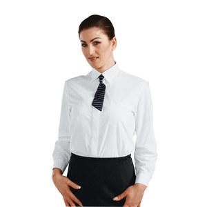 Camicia donna bianca manica lunga
