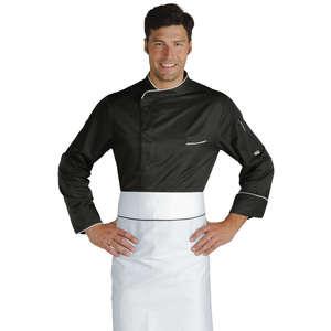 Giacca cuoco Bilbao nera