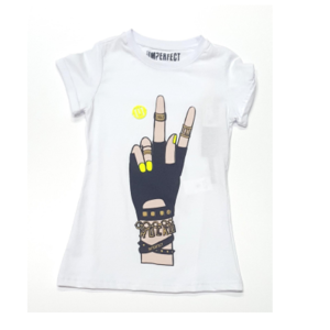 T shirt Imperfect bianco