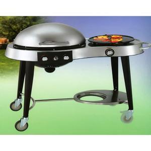 Barbecue Marte con fornello laterale