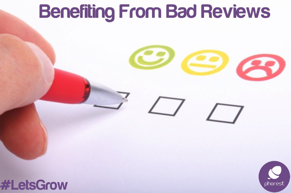 Good, medium and bad review check boxes