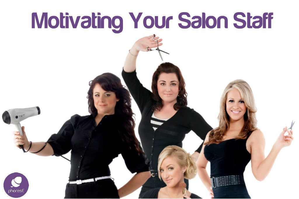 motivated salon staff