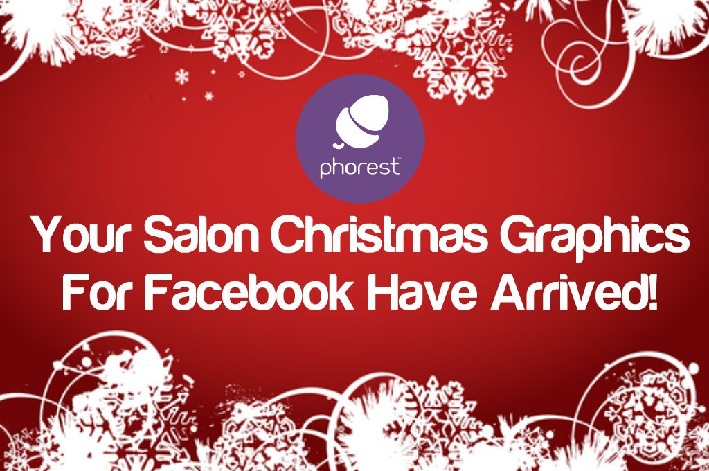 salon christmas graphics for facebook twitter phorest