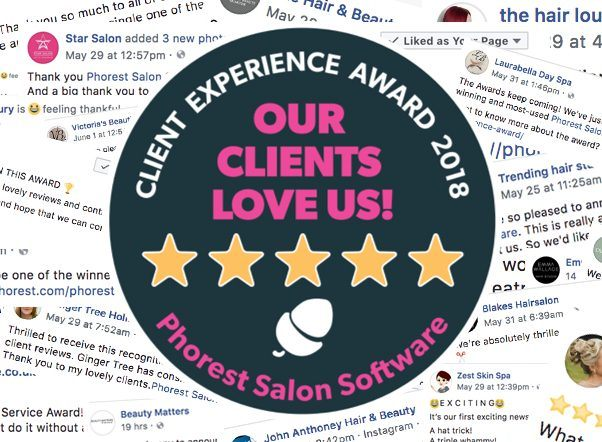client experience award 2018
