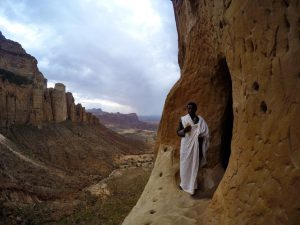 churches in the cliffs, Ethiopia