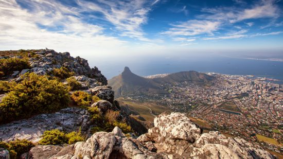 View of Cape Town and Lion's Head