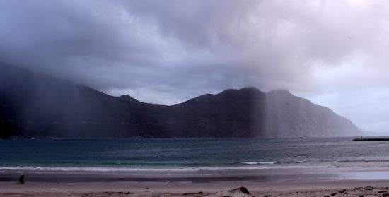 Chapman's Peak in the rain