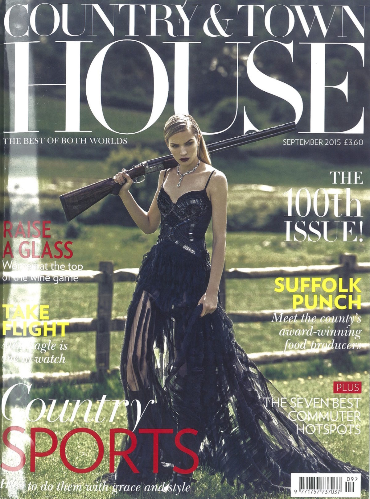 Country And Town House Cover Sept 2015